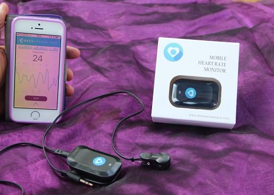 StressEraser Pro (Nieuw opvolger van de StressEraser) De StressEraser pro is gemaakt voor gebruik op uw iPhone.
